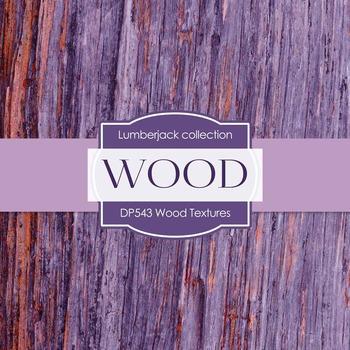 Digital Papers - Wood Textures (DP543)