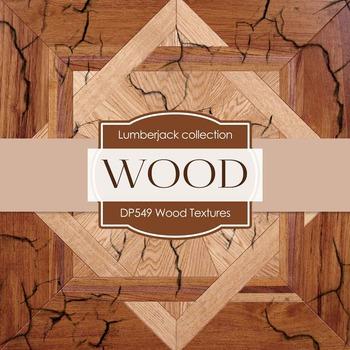 Digital Papers - Wood Textures (DP549)