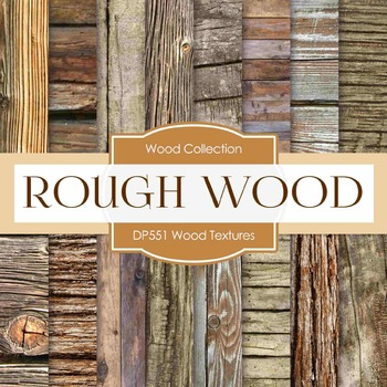 Digital Papers - Wood Textures  (DP551)