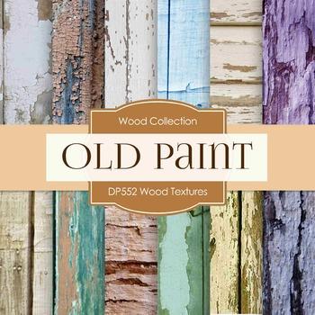 Digital Papers - Wood Textures  (DP552)
