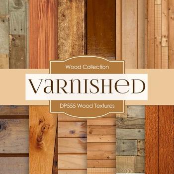 Digital Papers - Wood Textures  (DP555)