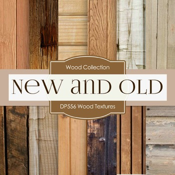 Digital Papers - Wood Textures  (DP556)