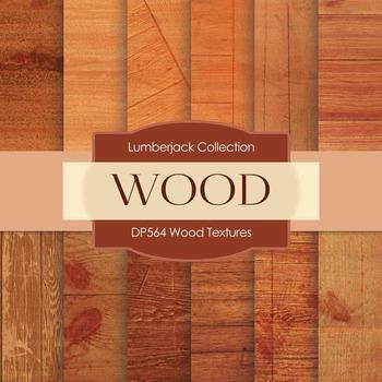 Digital Papers - Wood Textures (DP564)