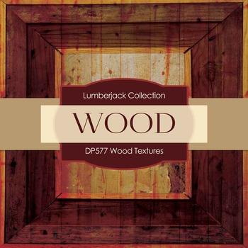 Digital Papers - Wood Textures (DP577)