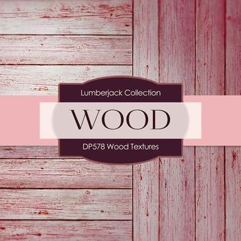 Digital Papers - Wood Textures (DP578)