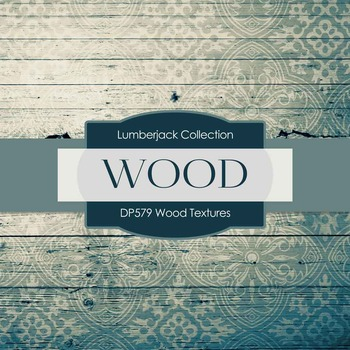 Digital Papers - Wood Textures (DP579)