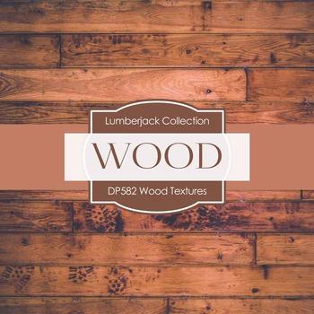 Digital Papers - Wood Textures (DP582)