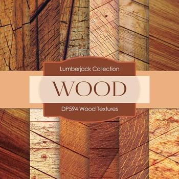 Digital Papers - Wood Textures (DP594)