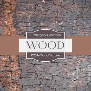 Digital Papers - Wood Textures  (DP596)