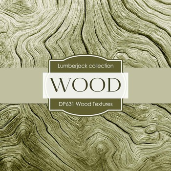 Digital Papers - Wood Textures (DP631)