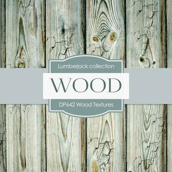 Digital Papers - Wood Textures (DP642)