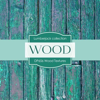 Digital Papers - Wood Textures (DP656)