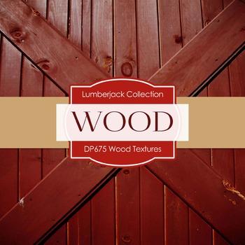 Digital Papers -  Wood Textures (DP675)