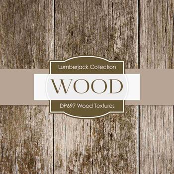 Digital Papers - Wood Textures (DP697)
