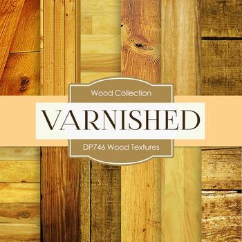 Digital Papers - Wood Textures  (DP746)