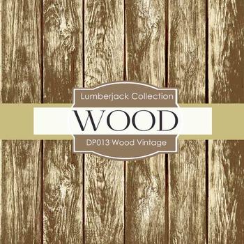 Digital Papers - Wood Vintage (DP013)
