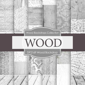 Digital Papers - Woodgrain Backdrop (DP2169)