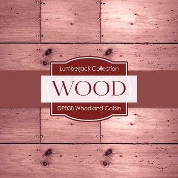 Digital Papers - Woodland Cabin (DP038)