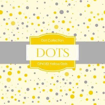 Digital Papers - Yellow Dots (DP4183)