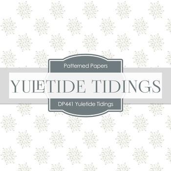 Digital Papers - Yuletide Tidings (DP441)
