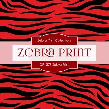 Digital Papers - Zebra Print (DP1279)