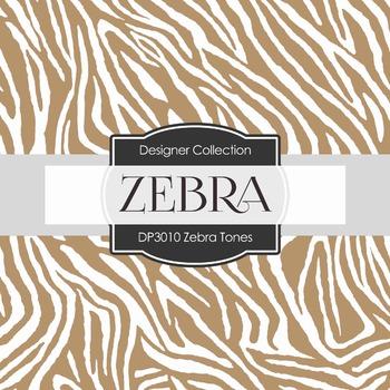 Digital Papers - Zebra Tones (DP3010)