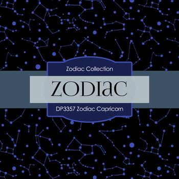 Digital Papers - Zodiac Capricorn (DP3357)