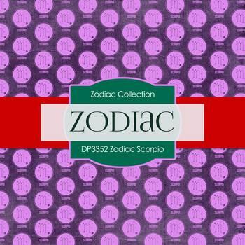 Digital Papers - Zodiac Scorpio (DP3352)