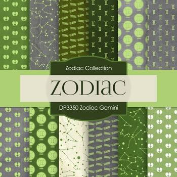 Digital Papers - Zodiac Gemini (DP3350)