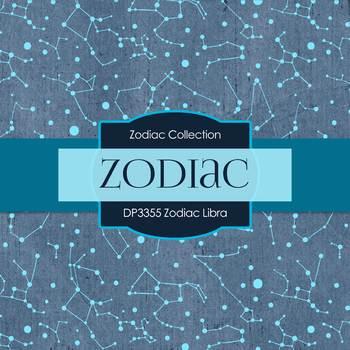 Digital Papers - Zodiac Libra (DP3355)