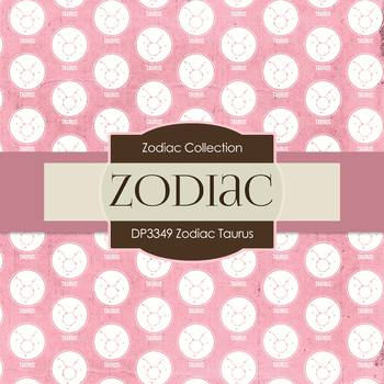 Digital Papers - Zodiac Taurus (DP3349)