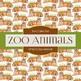 Digital Papers - Zoo Animals (DP6512)