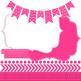 Digital Papers and Frames Color Pop Pink 2