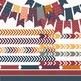 Digital Papers and Frames Garnet Fall Jumbo Set