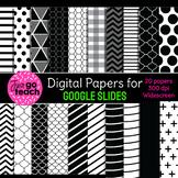 Digital Papers for Google Slides {Black}