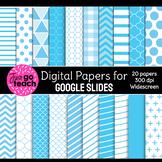 Digital Papers for Google Slides {Blue}