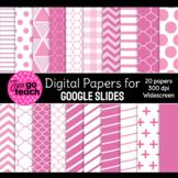 Digital Papers for Google Slides {Pink}