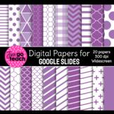 Digital Papers for Google Slides {Purple}