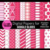 Digital Papers for Google Slides {Red}