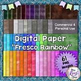 Digital Paper with Fresco Textures  61 Images PNG Mega Set