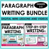 Digital Paragraph Writing Unit | Writing Mini-Lesson Video