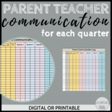 Digital Parent Communication Log