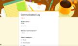 Digital Parent Communication Log