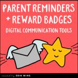 Digital Parent Communication and Student Rewards Bundle |