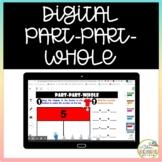 Digital Part Part Whole Math Activities