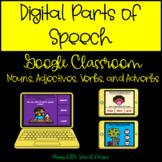 Digital Parts of Speech Bundle for Google Slides