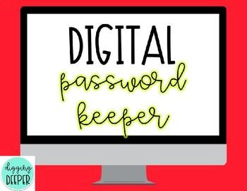 Digital Password Keeper