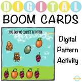 Digital Pattern Activity - Boom Cards™ - Distance Learning