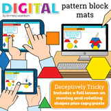 Digital Pattern Block Mats for the Seasons
