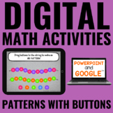 Digital Guided Math Activities | Patterning | Distance Lea